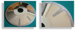 Electroplated Contour Blade