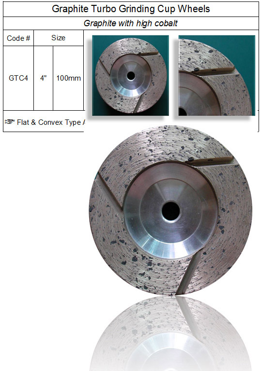 Graphite Turbo Grinding Cup Wheel